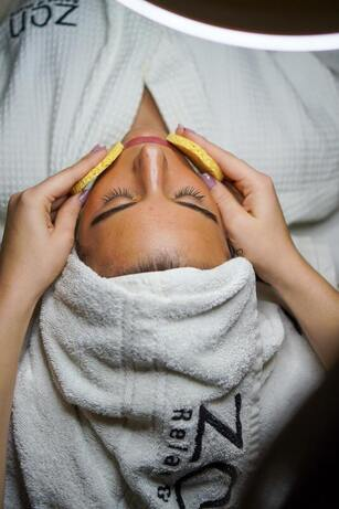Swedish massage and facial treatment